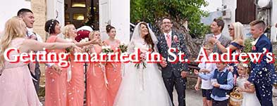 Getting married at St. Andrew's