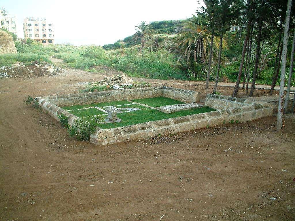 Houstoun Cemetery renovated 2014
