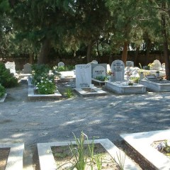 The New British Cemetery in Kyrenia