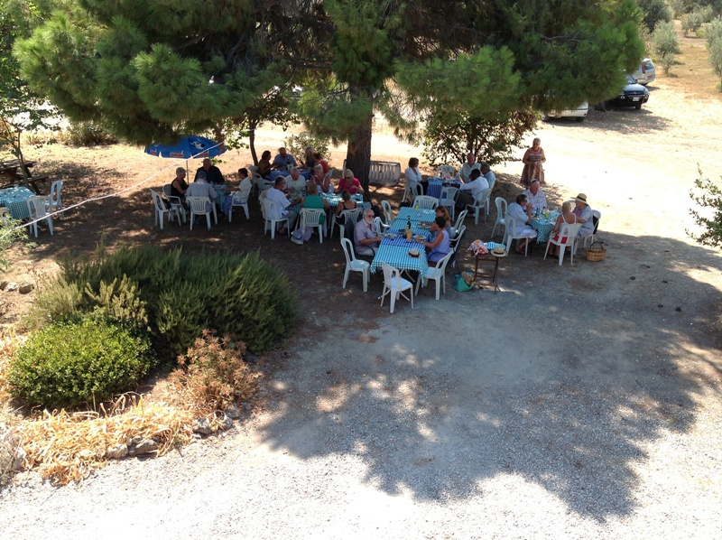 Harvest Lunch in the Hermitage Garden