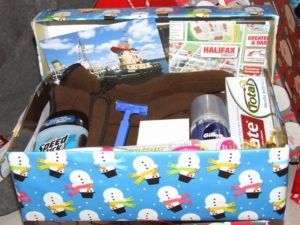 Seafarer's Christmas Shoebox