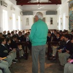 School visits to St Andrew's Church in Kyrenia, Cyprus
