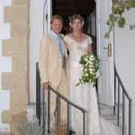 Weddings at St Andrew's Church, Kyrenia, Northern Cyprus