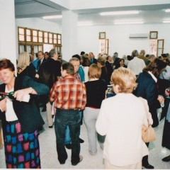 A reception in the Church Hall
